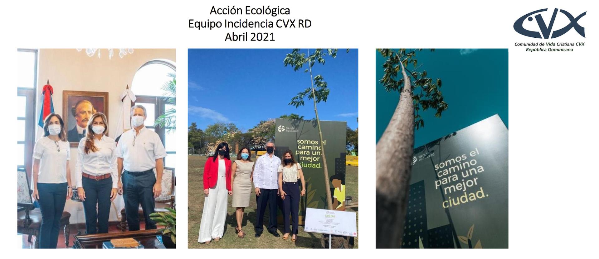Siembra Tu Frente: Ecological action in Santo Domingo, Dominican Republic
