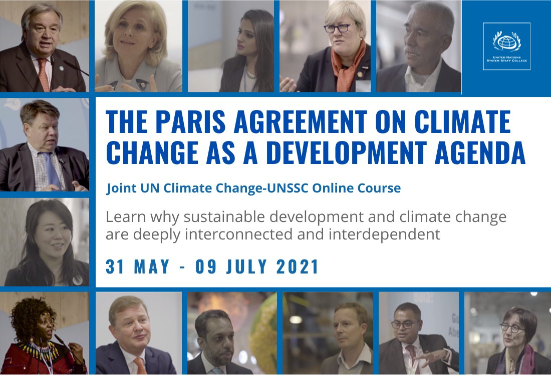 ONLINE COURSE: The Paris Agreement on Climate Change as a Development Agenda