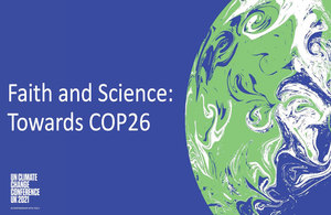 Faith and Science: towards COP26