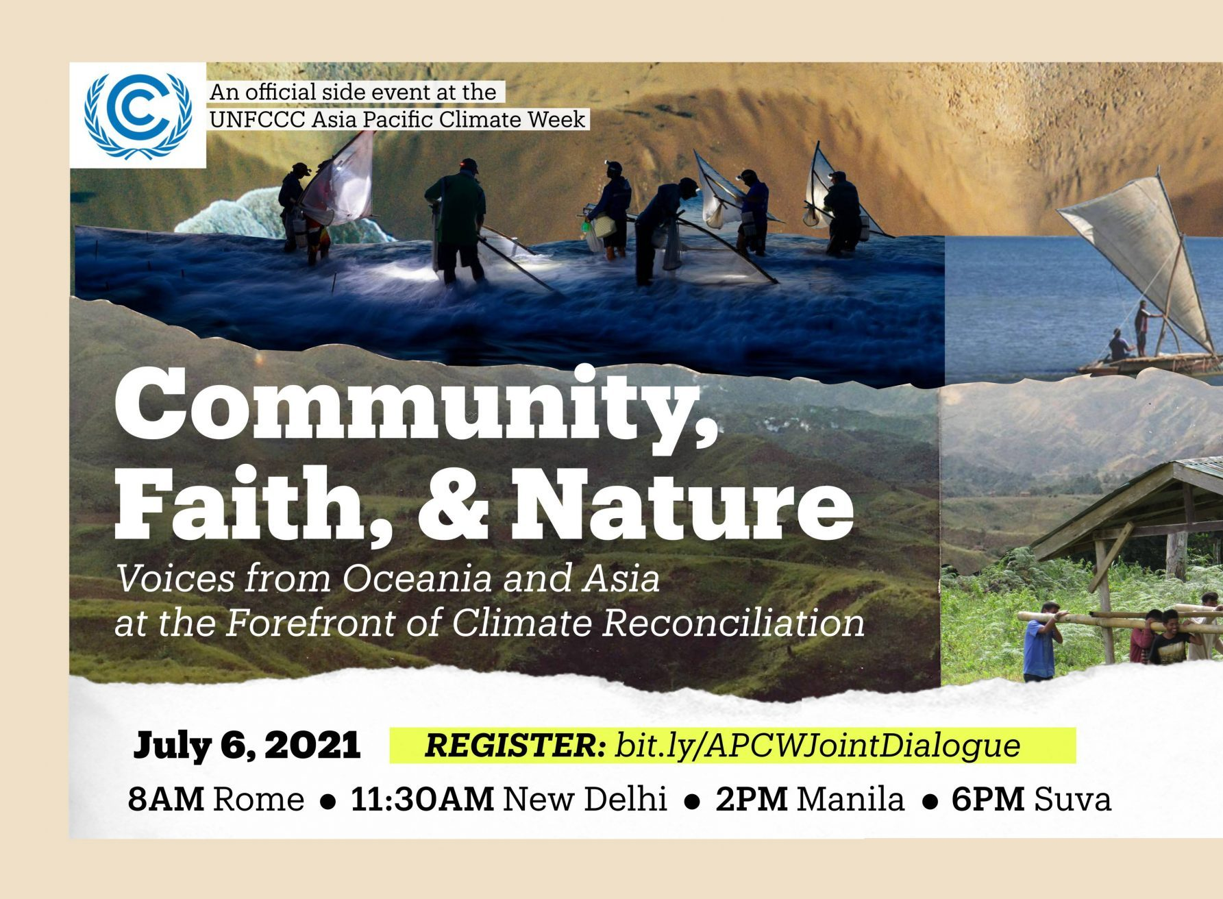Community, Faith, and Nature: Voices from Oceania and Asia at the Forefront of Climate Reconciliation