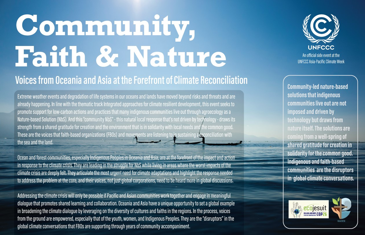 Culture-based solutions: A strength of growing reconciliation with land and seas through faith, community, and nature