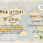 Creating4Change2021: Open Letters to COP26