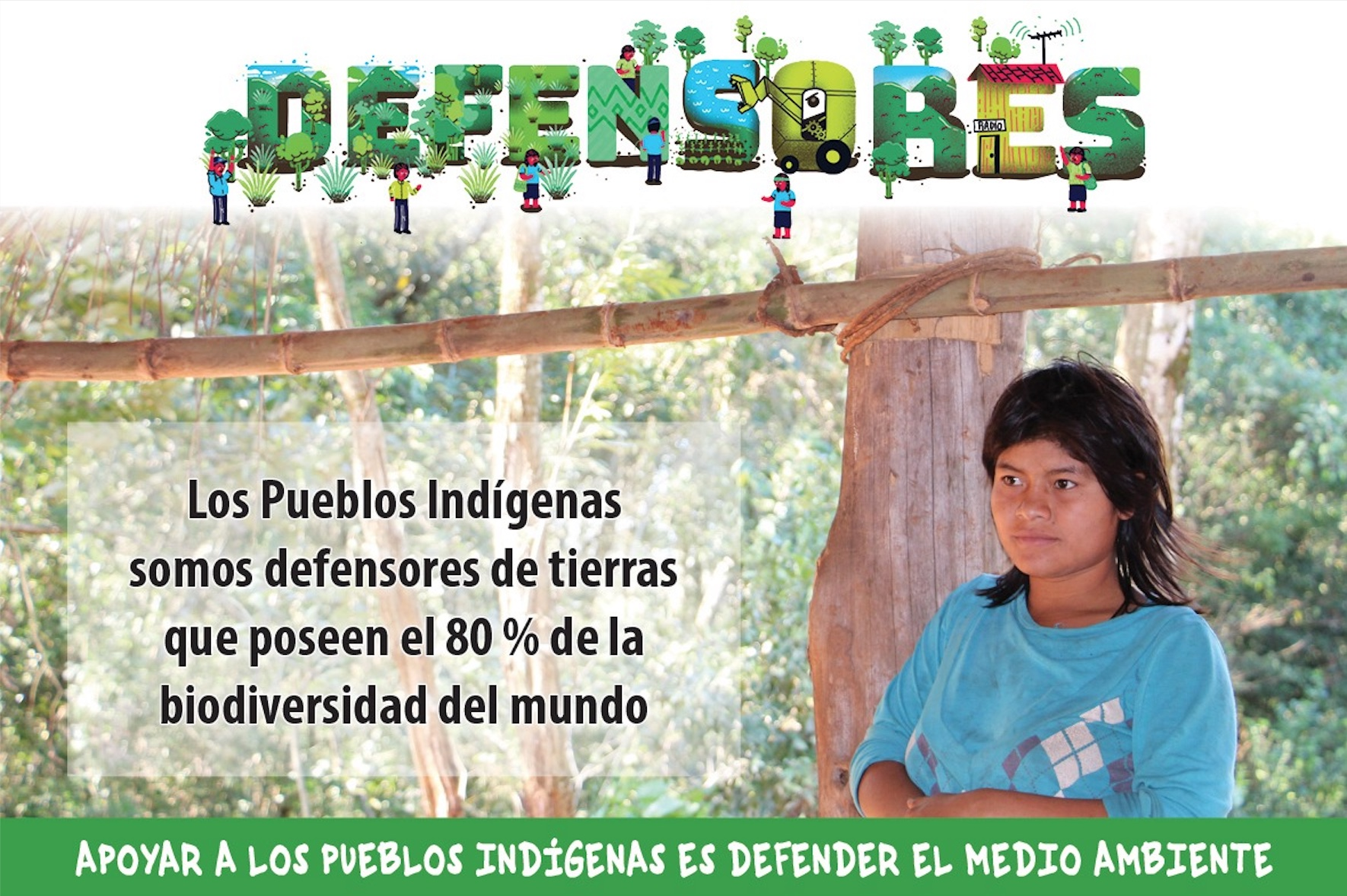 Defending with communities who defend nature: The Indigenous Peoples of Paraguay